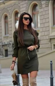 Платье короткое современное Ш1898
