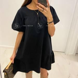 Платье короткое однотонное А32742