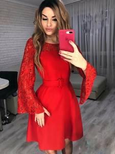 Платье короткое нарядное Я3695
