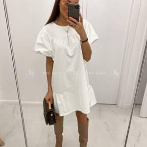 Платье короткое однотонное А32744
