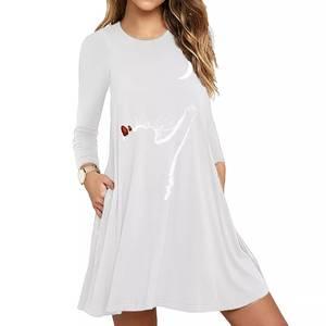 Платье короткое белое А44239