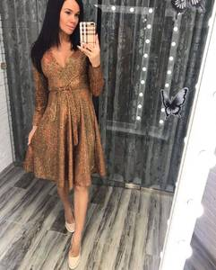 Платье короткое нарядное Ш6471