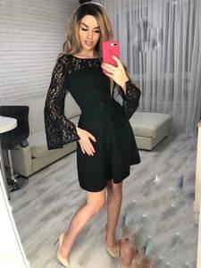 Платье короткое нарядное Я3698