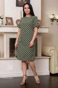 Платье короткое летнее А04515