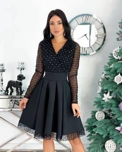 Платье короткое нарядное А20670