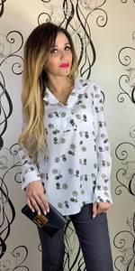 Блуза с длинным рукавом Х7399