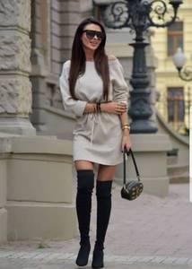 Платье короткое современное Ш1899