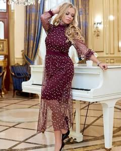 Платье длинное нарядное Я3706