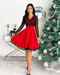 Платье короткое нарядное А20671
