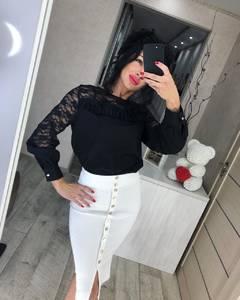 Блуза с длинным рукавом Ц2338