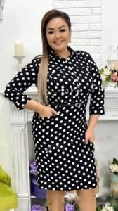 Платье короткое классическое Я3415