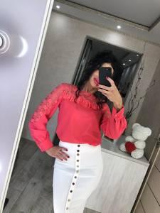 Блуза с длинным рукавом Ц2339