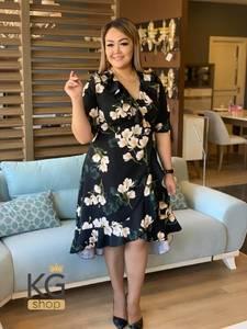 Платье короткое нарядное Ю7581