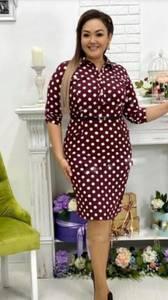 Платье короткое классическое Я3416