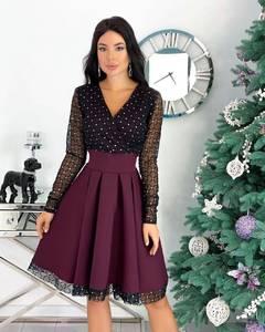 Платье короткое нарядное А20672