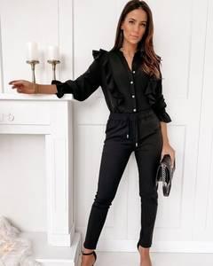 Блуза с длинным рукавом А24855