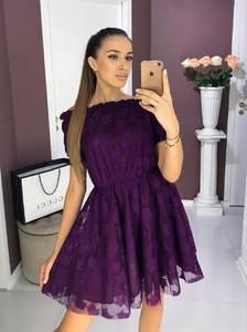 Платье короткое нарядное Ш8377