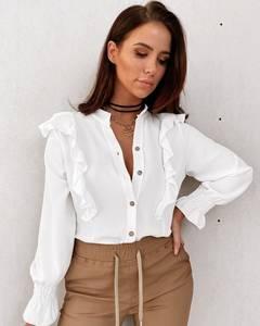 Блуза с длинным рукавом А24856