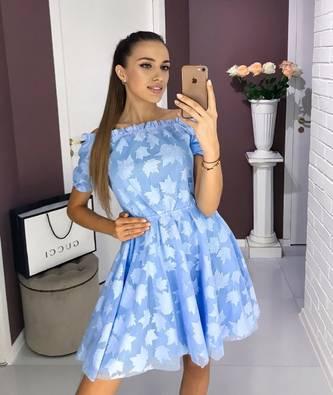 Платье короткое современное Ш8380