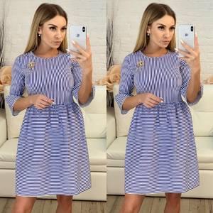Платье короткое современное летнее Х3683