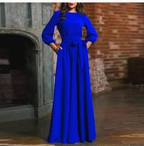 Платье длинное нарядное А44986