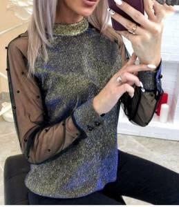 Блуза с длинным рукавом А09450