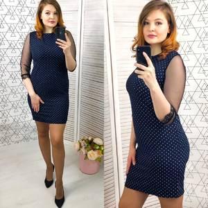 Платье короткое нарядное облегающее Х9599