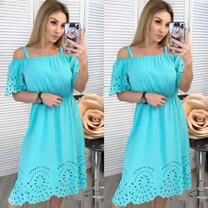 Платье короткое нарядное летнее Х9771