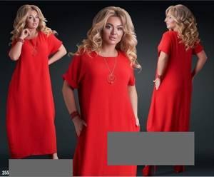 Платье длинное летнее А36762