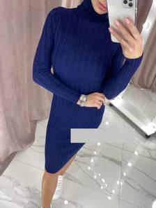 Платье короткое с длинным рукавом А55649