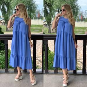 Платье длинное летнее Я7855