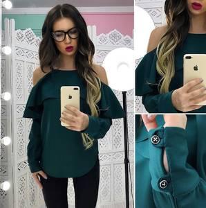 Блуза с длинным рукавом Х8385
