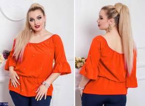Блуза с коротким рукавом Х4393