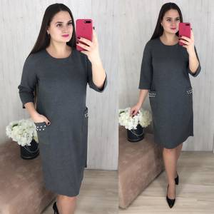Платье короткое повседневное Ш8294