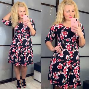 Платье короткое нарядное черное Х9252