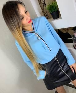 Блуза с длинным рукавом Ц0188