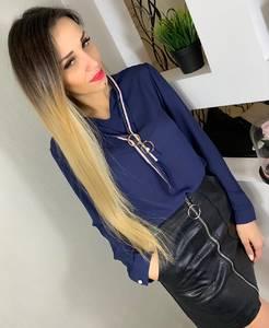 Блуза с длинным рукавом Ц0189