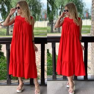 Платье длинное летнее Я7856