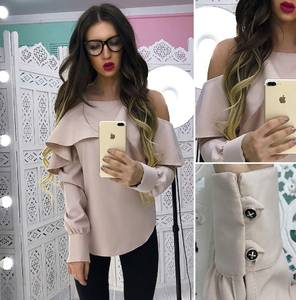 Блуза с длинным рукавом Х8386