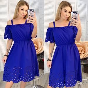 Платье короткое нарядное современное Х9773