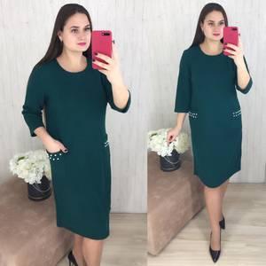 Платье короткое повседневное Ш8295