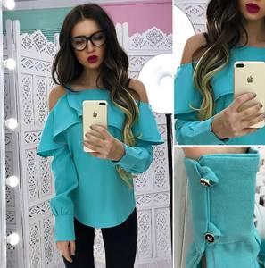 Блуза с длинным рукавом Х8387