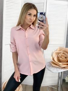 Рубашка однотонная Ц3448
