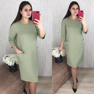 Платье короткое повседневное Ш8296