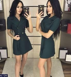 Платье короткое нарядное классическое Х6729