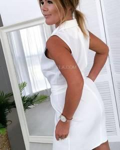 Платье короткое однотонное А39178