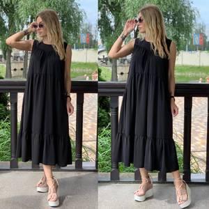 Платье длинное летнее Я7858