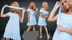 Платье короткое летнее А36756