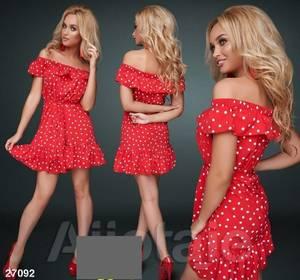 Платье короткое летнее А36757