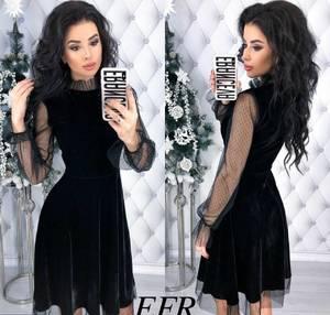Платье короткое нарядное современное Х8390